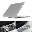 "ENKAY Silver Protective PC Full Body Case + Keyboard Film for MACBOOK PRO 13.3"" w/ RETINA DISPLAY"