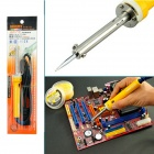 30W Handheld External Heating Automatic Constant Temperature Electronic Soldering Iron - Yellow