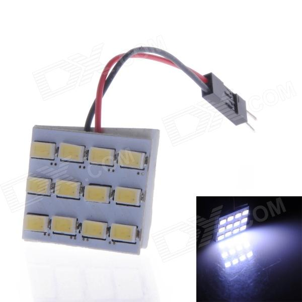 LY582 T10 / BA9S 4.5W 220lm 6000K 12 x 5730 SMD LED White Light Lamp Board