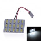 T10 / BA9S 9W 280lm 6000K 15 x 5730 SMD LED White Light Lamp Board