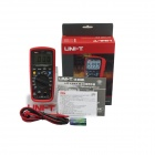 "UNI-T UT139A Handheld 2.7"" LCD True RMS Digital Multimeter - Grey + Red (2 x AA)"
