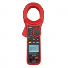 "UNI-T UT221 Handheld 2"" LCD Digital Clamp Multimeter - Red + Dark Grey"