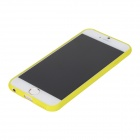 "ROCK RK-ip6M Melody Series Texture Style Protective TPU Back Case for 4.7"" IPHONE6 - Yellow"
