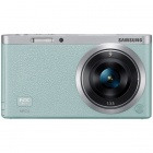 Samsung NX Mini Interchangeable Lens Digital Camera with 9mm Lens (Green)