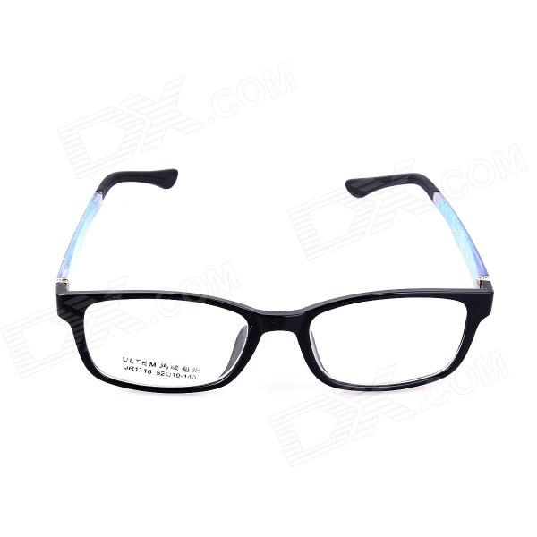 SYS0071 PC Radiation Protection Plain Glass Spectacles / Myopia Frame - Black