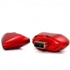 AX-520 del corazón en forma de USB 2.0 Flash collar de disco - Red (32GB)