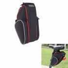 ROSWHEEL 13890 Bike Bicycle Polyester Saddle Seat Tail Bag - Black