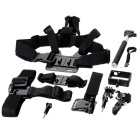 7-in-1 Mout Accessories Set for Gopro Hero 3 / 3+ - Black
