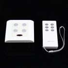 4-Way ON/OFF Digital Switch Controller For Light Lamp + 6-Key Remote Controller (AC190~250V)