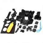 10-in-1 Mount Accessories Set w/ Chestbelt, Monopod, Helmet Belt, Arm Belt + More for Gopro Hero