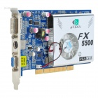 NVIDIA GeForce FX5500 256M/128bit DDR PCI Video Card with DVI and S-Video Ports