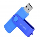 SJ-20 Ourspop Rotary 2.0 Flash Disk USB w / Micro USB - Blue (32 GB)