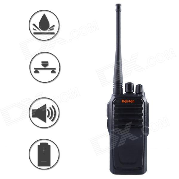 Baiston BST-520 Professional Super Power Shock-Proof Waterproof 8W Walkie Talkie - Black