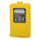 BaoFeng Replacement 7.4V 1800mAh Li-ion Battery for Walkie Talkie UV-5R / 5RA / 5RD - Yellow