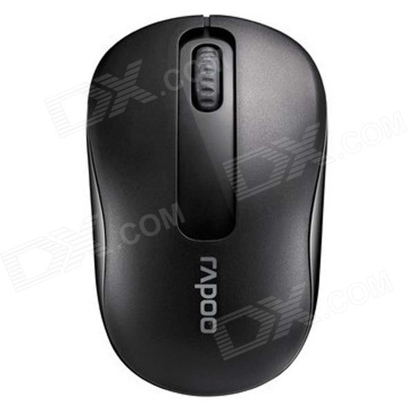 Rapoo M218 Optical 2.4GHz Wireless Mouse - Black