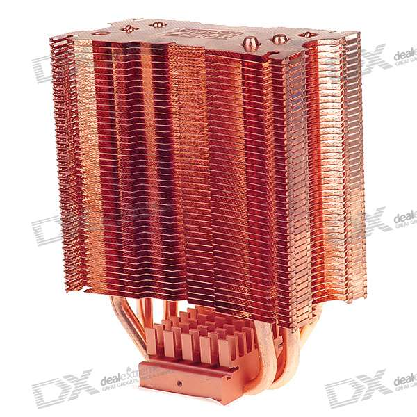130W 900~2000RPM Quiet CPU Heatsink + Cooling Fan with PWM Speed Control