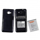 """Tiger S42 Android 4.2.2 Dual-Core WCDMA Phone w/ 4.0"""" Screen, Bluetooth, Dual Camera, GPS - Black"""