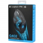 Logitech G402 4000dpi USB 2.0 Gaming Mouse - черный