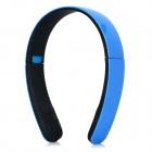 Magift1 Bluetooth V4.0 Headband Headphone w/ Microphone - Blue + Black