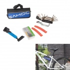 SAHOO Handy 33-in-1 Portable Bike Repair Kit w/ Pump - Blue