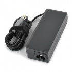 High-Quality 90W 20V 4.5A Power Adapter w/ AC Power Cable for IBM Laptops - Black (100~240V)