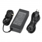 High-Quality 90W 19V 4.74A Power Adapter w/ AC Power Cable for DELTA Laptops - Black (100~240V)