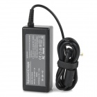 High-Quality 60W 19V 3.16A Power Adapter w/ AC Power Cable for Dell Laptops - Black (100~240V)
