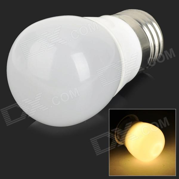 YouOKLight JL001 E27 3W 200lm 3000K 6-SMD 5730 LED Warm White Ceramic Bulb - White (AC 85~265V)