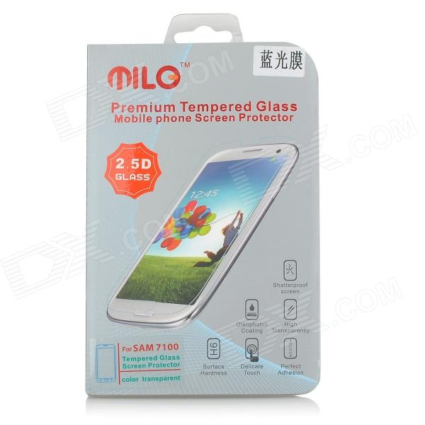 Premium 0.3mm Tempered Glass Clear Screen Guard Protector for Samsung Galaxy N7100 - Light Blue защитные стекла liberty project защитное стекло lp для nokia 630 tempered glass 0 33 мм 9h ударопрочное
