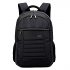 "SENDIWEI S-351W Water Resistant Multifunction Protective Nylon Backpack for 15"" Laptops - Black"