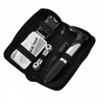 SAHOO 21040 Portable Multifunctional Bike Tire Repair Tool Kit - Black