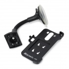 Car Mount Holder + Car Spring Cable Charger Set for LG G3 / D855 / D858 / D859 - Black