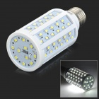 JRLED E27 12W 1200lm 6300K 99-SMD 2835 LED White Light Corn Lamp - White (AC 220~240V)