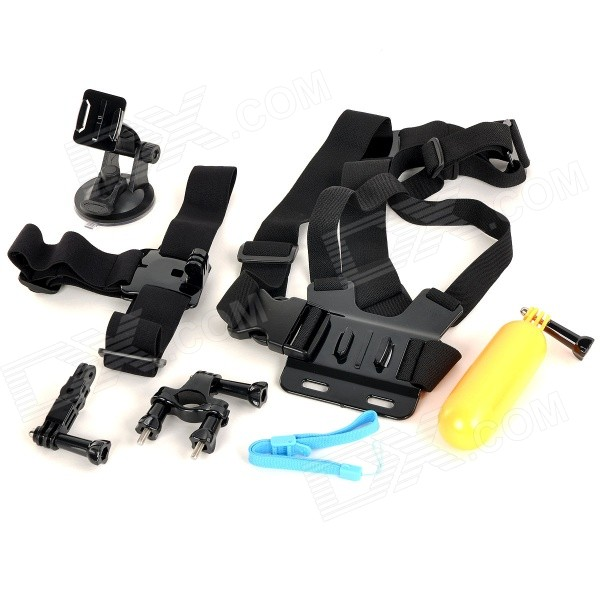 6-in-1 Chest Belt / Bike Mount / Floating Grip Handle Mount + More for GoPro Hero 2, 3, 3+ floating hand grip handle mount for gopro hero hd 1 2 3 3