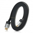3D HD 1080P HDMI Male to Male Cable for PS3 / PS3 Slim / XBOX360 - Black + Silver (190cm)