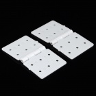 DIY ABS Spare Fixing Plane Hinge Connecting Plate for R/C Aircraft - White (2 PCS)