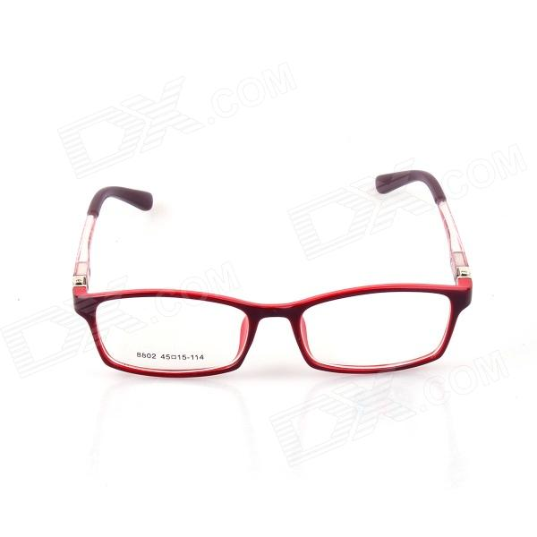 SYS0067 Kids PC Radiation Protection Glasses / Myopic Glasses Frame - Black + RedEyeglasses &amp; Accessories<br>Flexible durable 180&amp;#39; bendable and light weight; comfortable to wear; myopic lens is not included.<br>