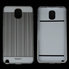 Protective Aluminum Alloy Bumper Frame w/ PC Back Cover for Samsung Galaxy Note 3