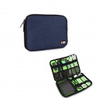 BUBM Portable Digital Accessories Nylon Storage / Organizing Bag - Sapphire (10L)