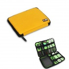 BUBM Portable Digital Accessories Nylon Storage / Organizing Bag - Yellow (Size-L)