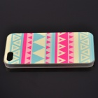 Colorful Triangle Pattern Painted Plastic Case for IPHONE 5 / 5S