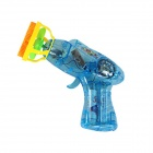 FR-22 Children's Electric Bubble Machine Gun Toy - Blue + Yellow (2 x AA)