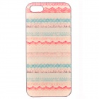Fashion Colorful Pattern Plastic Back Case for IPHONE 5 / 5S