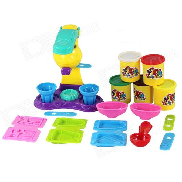 SD-21 Safe Nontoxic 3D Plasticine Molds Suits - Yellow + Red + Multi-Color