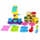 SD-21 Safe Nontoxic 3D Plasticine Molds Kit - Yellow + Red + Multi-Color