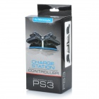 PEGA Blue Light Dual Controller USB Charging Cradle/Dock for PS3