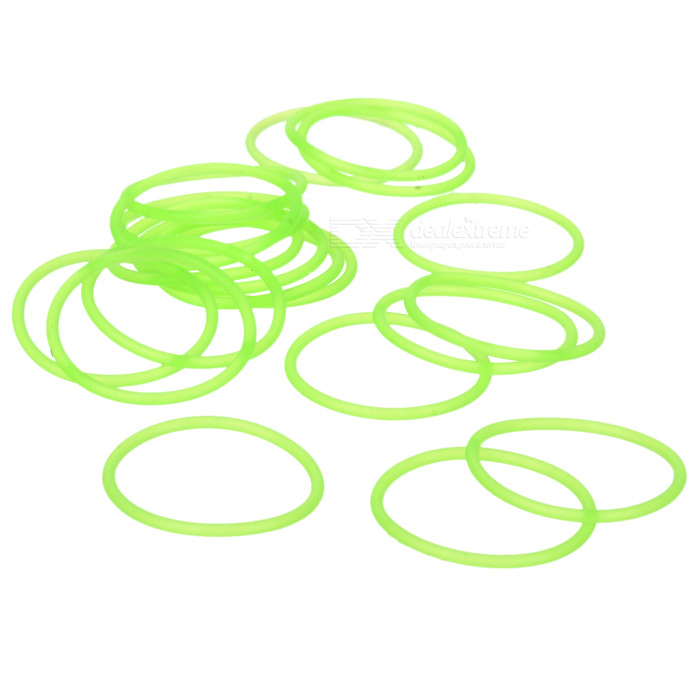 Glow-in-the-Dark Water-tight Silicone O-Ring Seal (20mm 20