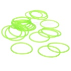 Glow-in-the-Dark Water-tight Silicone O-Ring Seal (20mm 20-Pack)
