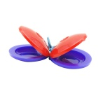 Hard Plastic Castanets - Red (Pair)