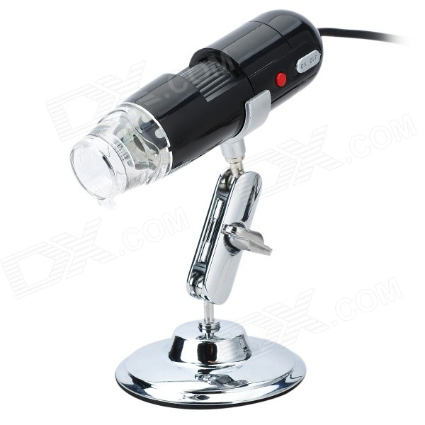 Portable USB 1.3MP 200X Digital Microscope with 8-LED Illumination face detection usb camera 640 x 480 vga 0 3mp ov7725 cmos plug and play free driver webcam with software wide dynamic function